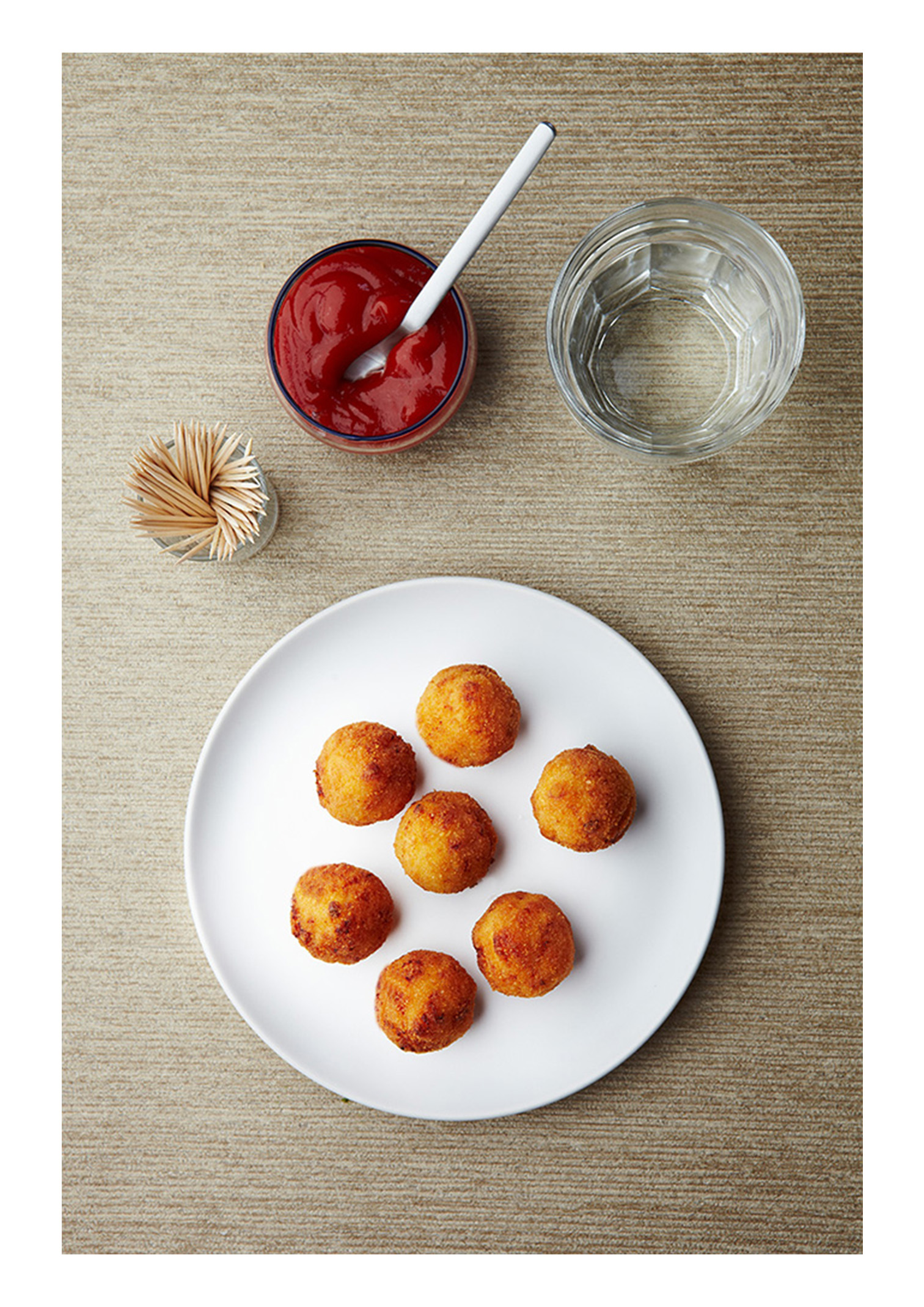 food photography, croquets